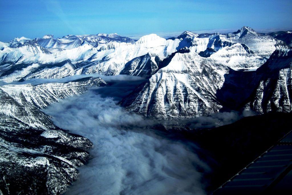 glacier-flight
