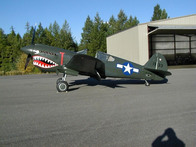 1941 Curtiss P-40 E/N Kittyhawk